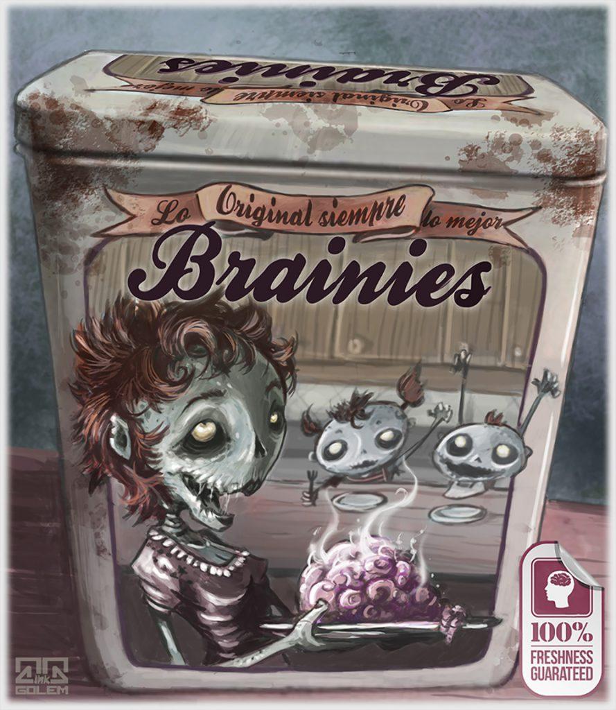 Brainies pack halloween
